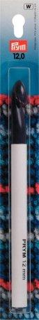 Prym Woll-Häkelnadeln o. Griff KST 17 cm 12,00 mm grau