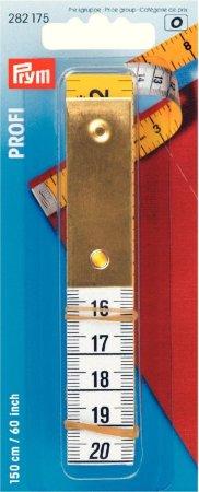 Prym Massband Profi mit Metallplatte 150 cm 60 inch