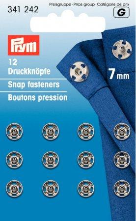 Prym Annäh-Druckknöpfe 341242 MS 7mm
