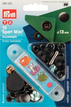 Prym NF-Druckknopf Sport Mini MS 13 mm brüniert