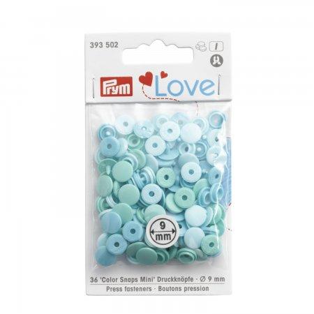Prym Prym Love Color Snaps Mini Mischpackung mint