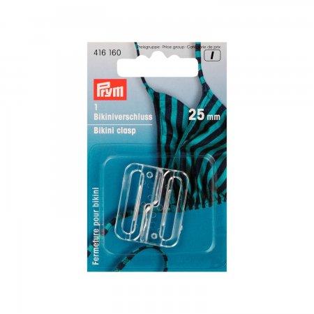 Prym Bikini- und Gürtelverschluss KST 25 mm transparent