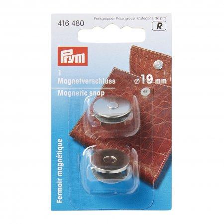 Prym Magnet-Verschluss 19 mm silberfarbig