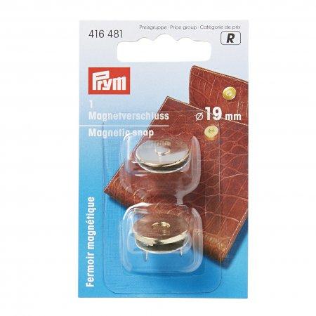 Prym Magnet-Verschluss 19 mm goldfarbig