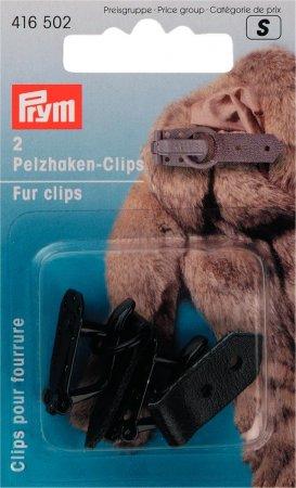 Prym Pelzhaken-Clips schwarz