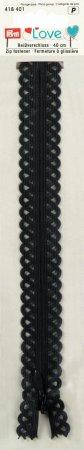 Prym Love Reissverschluss S11 Deko 40cm graphit