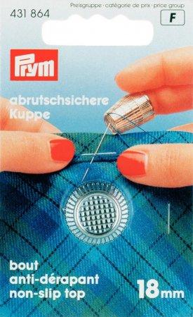 Prym Fingerhut ZDG 18,0 mm silberfarbig