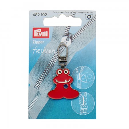 Prym Fashion-Zipper für Kinder Funmotiv rot