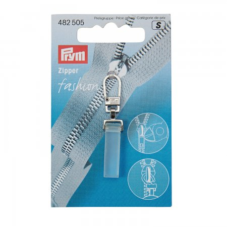 Prym Fashion-Zipper Crystal transparent matt