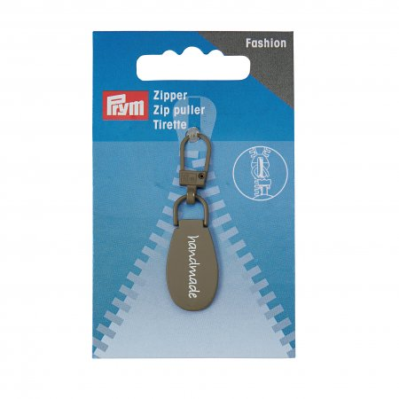 Prym Fashion-Zipper handmade grau