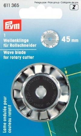Prym Ersatzklinge für Rollschneider Wellen 45 mm