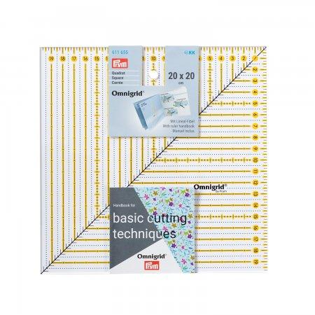 Prym Patchwork-Lineal Square 20 x 20 cm Omnigrid