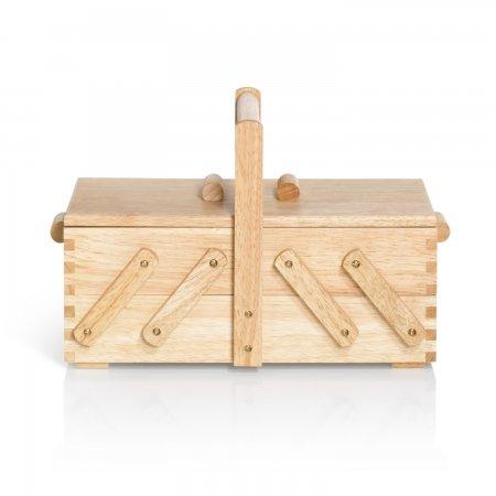 Prym Nähkasten Holz hell S