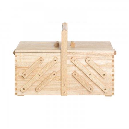 Prym Nähkasten Holz hell L