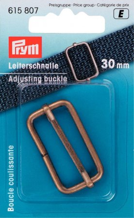 Prym Leiterschnalle 30mm altmessing