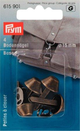 Prym Bodennägel für Taschen 15 mm altmessing