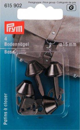 Prym Bodennägel für Taschen 15 mm altilber