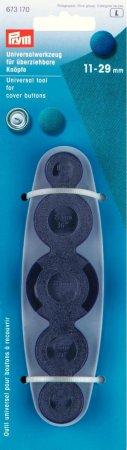 Prym Werkzeug für überziehbare Knöpfe 11-29 mm