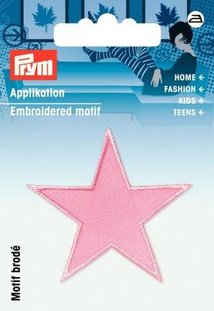 Prym Applikation Sterne rosa