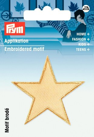 Prym Applikation Sterne beige