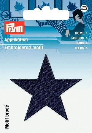 Prym Applikation Sterne dunkelblau