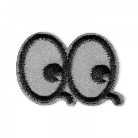 Prym Applikation Reflex selbstklebend/aufbügelbar Augen