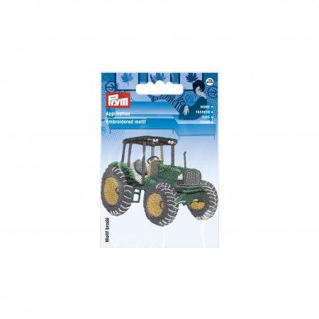 Prym Applikation Traktor gruen