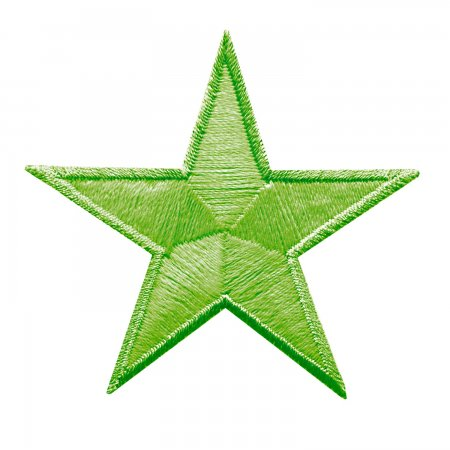 Prym Applikation GLOW IN THE DARK Sterne grün