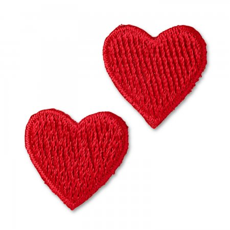 Prym Applikation Herzen rot