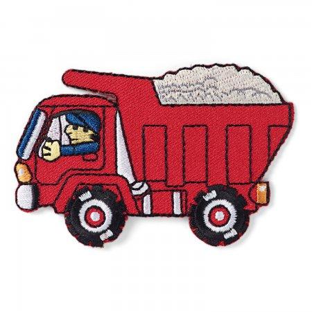 Prym Applikation Lastwagen rot