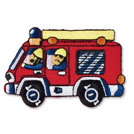 Prym Applikation Feuerwehrauto rot