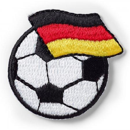 Prym Applikation Fussball mit Deutschland Fahne