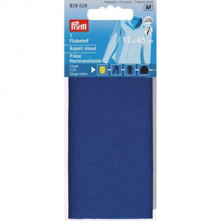 Prym Flickstoff Köper (bügeln) 12 x 45 cm royalblau