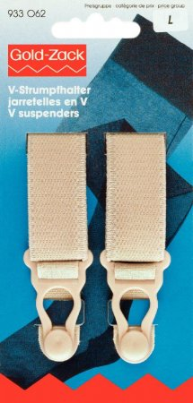 Prym V-Strumpfhalter Veloursband KST 20 mm haut