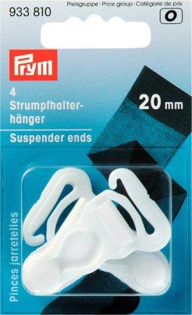 Prym Strumpfhalter-Hänger KST 20 mm weiss NML