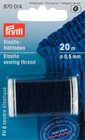 Prym Elastic-Nähfaden 0,5 mm hellblau