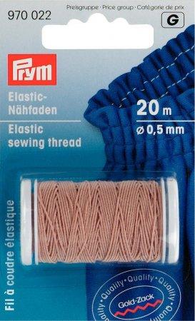 Prym Elastic-Nähfaden 0,5 mm sand