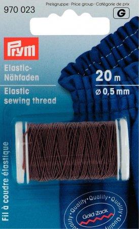 Prym Elastic-Nähfaden 0,5 mm braun
