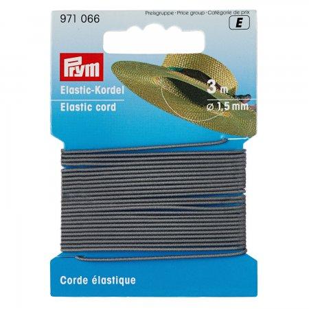 Prym Elastic-Kordel 1,5 mm hellgrau