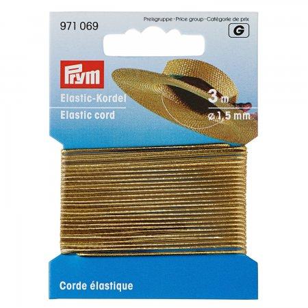 Prym Elastic-Kordel 1,5 mm goldfarbig