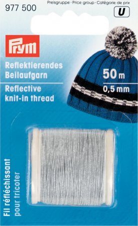 Prym Reflektierendes Beilaufgarn 0,5 mm