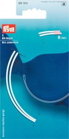 Prym BH-Bügel Gr. B (90) weiss