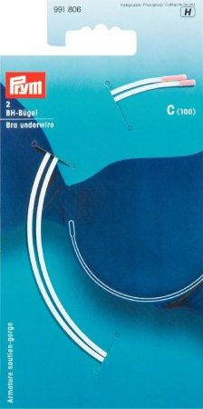 Prym BH-Bügel Gr. C (100) weiss