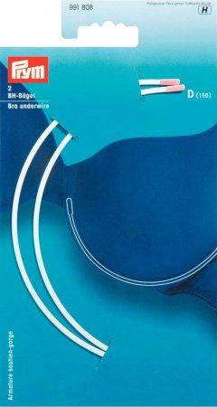 Prym BH-Bügel Gr. D (110) weiss