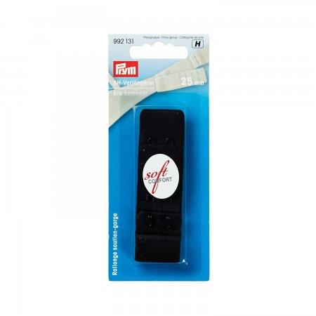 Prym BH-Verlängerer 3 x 2 Haken 25 mm schwarz