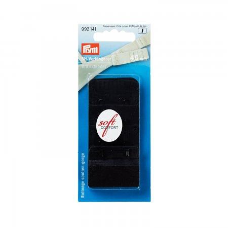 Prym BH-Verlängerer 3 x 2 Haken 40 mm schwarz