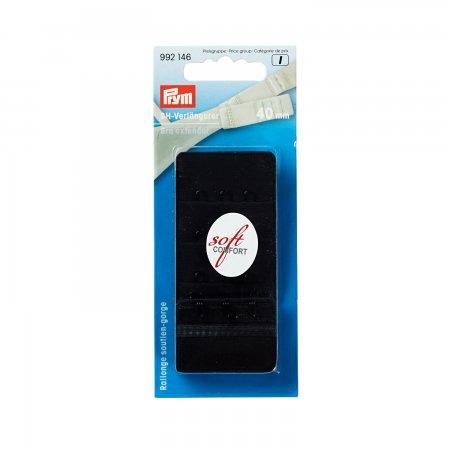 Prym BH-Verlängerer 3 x 3 Haken 40 mm schwarz