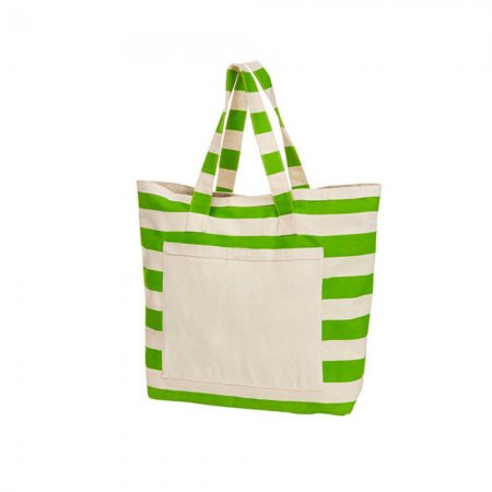 Strandtasche / Shopper apple green