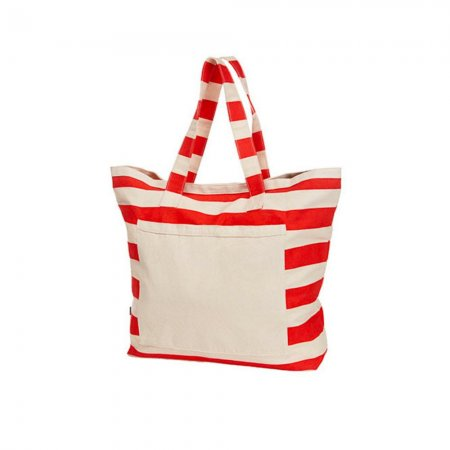 Strandtasche / Shopper red