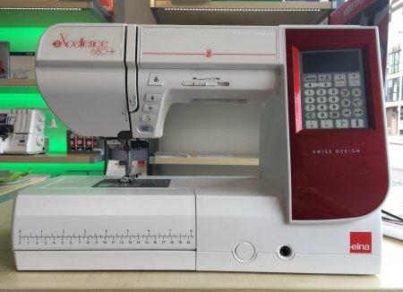 Elna  680+  eXcellence Computerm. aus unserer Ausstellung